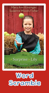 Word Scramble Book 4 - A Surprise for Lily